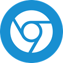 chrome DodgerBlue icon