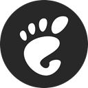Gnome DarkSlateGray icon