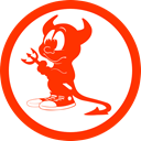 Freebsd, free bsd, Daemon OrangeRed icon