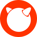 Freebsd, free bsd OrangeRed icon
