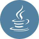 Java, Coffee SteelBlue icon