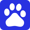 Baidu, chinese RoyalBlue icon