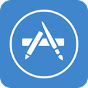 App, Appstore, store SteelBlue icon