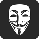 anonymous, Crime, Anonym, Hacker, thief DarkSlateGray icon