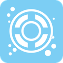 Float, Design LightSkyBlue icon