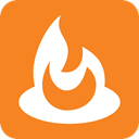Feedburner, Feed burner DarkOrange icon