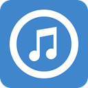 songs, music, itunes SteelBlue icon