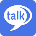 Chat, google, talk RoyalBlue icon