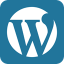 word press, Wordpress DarkCyan icon