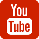 youtube, video, you tube Firebrick icon