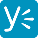 yammer LightSeaGreen icon