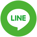 Communication, Social, Connection, share, line LimeGreen icon