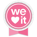 Weheartit, Social, Ribbon Icon