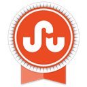 Social, Ribbon, Stumbleupon Chocolate icon