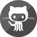 Community, project, Cloud, Social, collaborate, Github, work, Code DarkSlateGray icon
