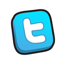 twitter, buttons Black icon
