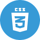 css3 SteelBlue icon