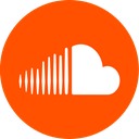 Soundcloud OrangeRed icon