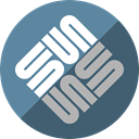 sun, Microsystems CadetBlue icon