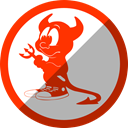 Freebsd, Daemon DarkGray icon
