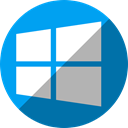 windows, microsoft DarkCyan icon
