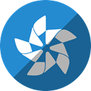 Tizen SteelBlue icon