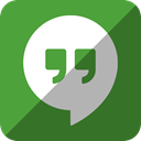 Hangouts, google DarkOliveGreen icon
