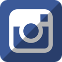 Instagram DarkSlateGray icon