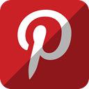 pinterest Brown icon