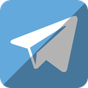 telegram CornflowerBlue icon