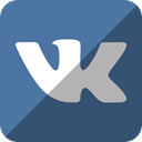 vkontakte, Vk SteelBlue icon