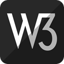 W3, W3c DarkSlateGray icon