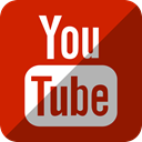 youtube, Tv Firebrick icon