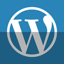 blog, Wordpress SteelBlue icon