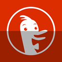Duckduckgo OrangeRed icon