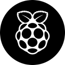 raspberry Black icon
