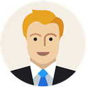 male, Business, Man, Costume, Avatar, office, user Linen icon