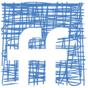 Social, Sketch, media, Fiendfeed, Pen SteelBlue icon
