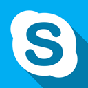 Chat, talk, Skype DeepSkyBlue icon