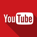 video, youtube Firebrick icon