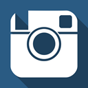 Instagram, Social DarkSlateBlue icon