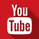 Social, youtube Firebrick icon