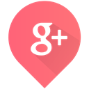 plus, Social, google plus, google Salmon icon