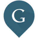 google, Find, search DarkSlateGray icon