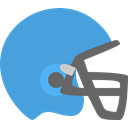 sport, hat, helmet, Football, Protection, head CornflowerBlue icon