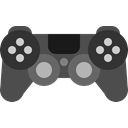 Games, Fun, controller, play, gaming, ps4, sony DarkSlateGray icon