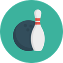 Ball, sport, Game, Bowling Icon