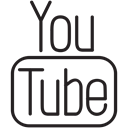post, video, youtube, watch, share, Social, media Black icon