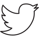 Social, twitter, Connect, media, share, News, tweet Black icon