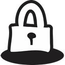 handrawn, safety, open, Safe, Close, Lock, secure Icon